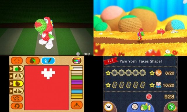 Poochy & Yoshi's Wooly World - Immagine 1