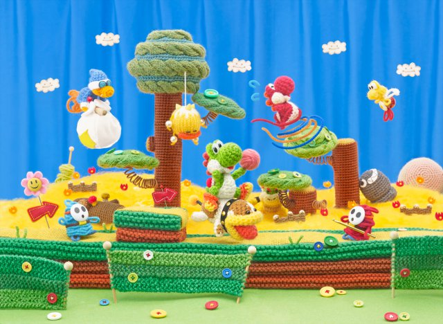 Poochy & Yoshi's Wooly World - Immagine 4