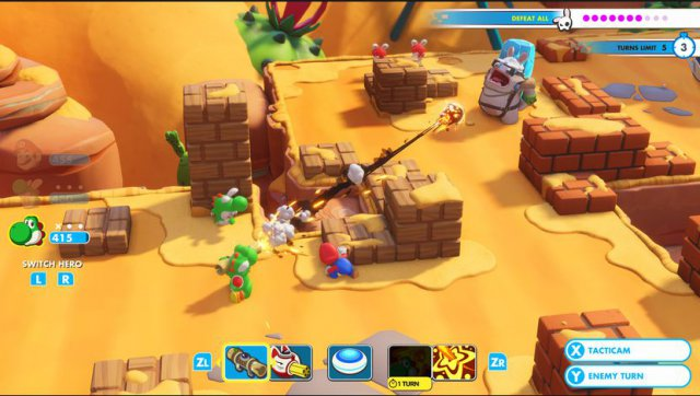 Mario + Rabbids: Kingdom Battle - Immagine 1