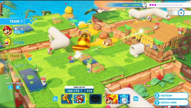 Mario + Rabbids: Kingdom Battle - Immagine 4