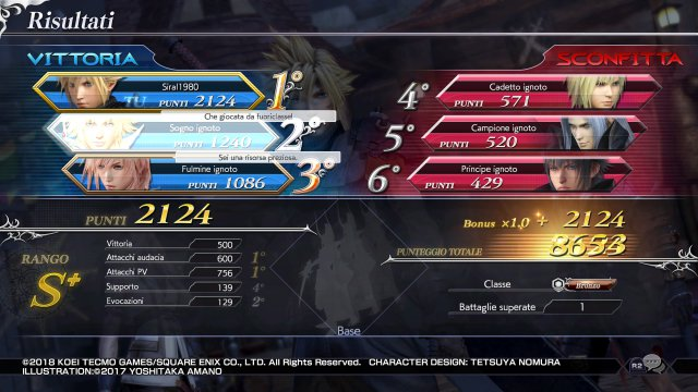 Dissidia: Final Fantasy NT - Immagine 1