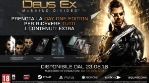 Nuovo trailer e edizioni speciali per Deus Ex: Mankind Divided