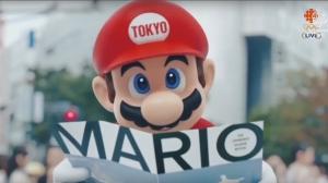 Da Rio a Tokyo: Mario accoglie la fiamma Olimpica!