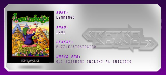 Retro Sequel: Lemmings - Immagine 5