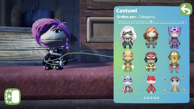LittleBigPlanet PS Vita Marvel Super Hero Edition - Immagine 1