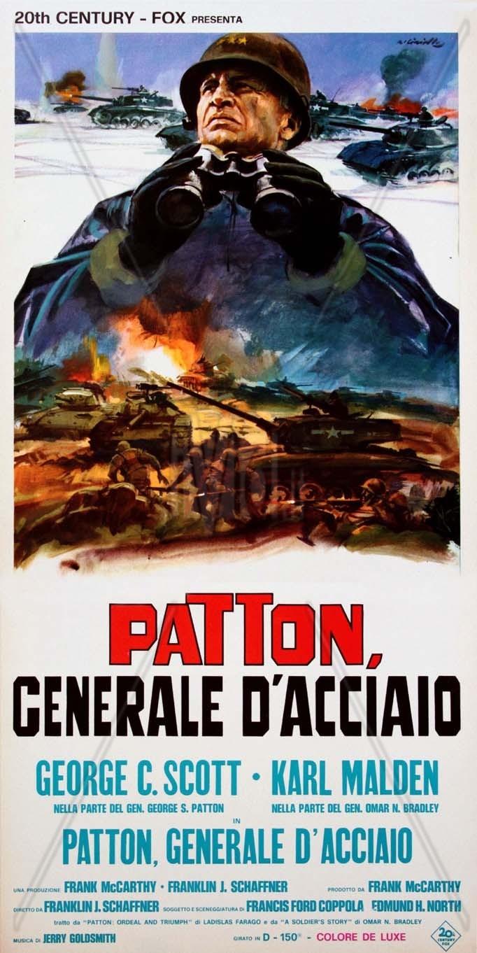 Risultati immagini per Patton, Generale d'Acciaio