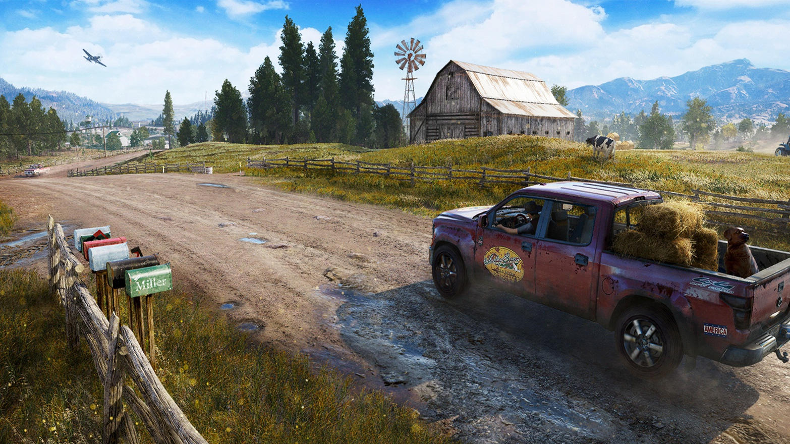 Far Cry 5 si mostra in un nuovo gameplay esteso