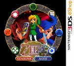 Copertina The Legend of Zelda: Oracle of Seasons/Ages - 3DS