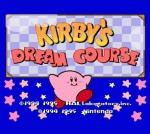 Copertina Kirby's Dream Course - Wii U