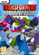 Copertina Transformers: Devastation - PC