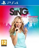 Copertina Let's Sing 2016 - PS4