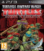 Copertina Teenage Mutant Ninja Turtles: Mutanti a Manhattan - PS3