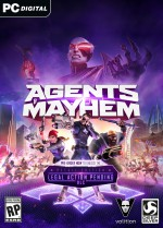 Copertina Agents of Mayhem - PC