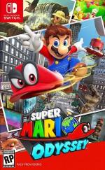 Copertina Super Mario Odyssey - Switch