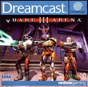 Quake III Arena Dreamcast Cover