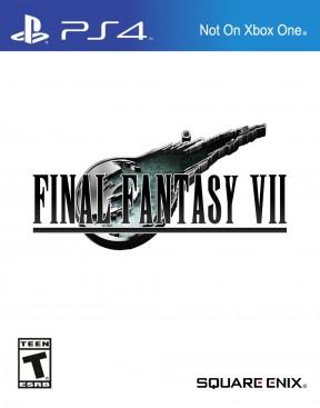 Final Fantasy VII PS4 Cover