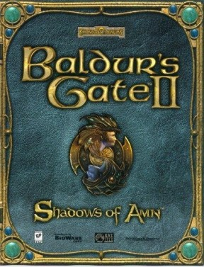 Baldur's Gate II: Shadows of Amn PC Cover
