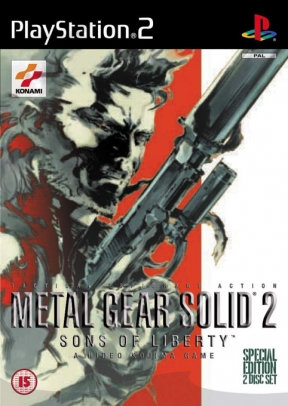 Metal Gear Solid 2: Sons of Liberty PS2 Cover