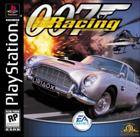 007: Racing PSOne Cover