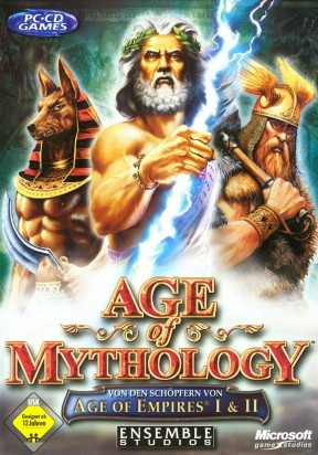 Age of Mythology PC Cover
