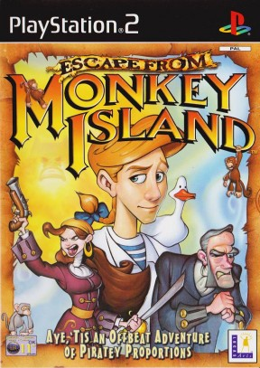 Fuga da Monkey Island PS2 Cover