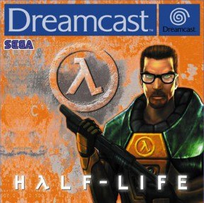 Half-Life Dreamcast Cover