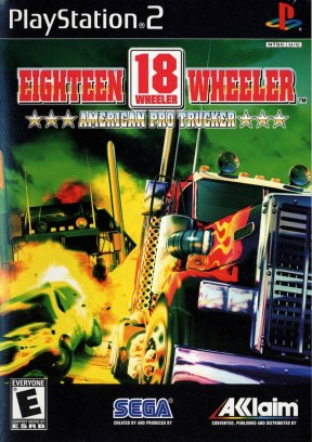 18 Wheeler: American Pro Trucker PS2 Cover