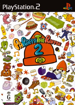 PaRappa the Rapper 2 PS2 Cover