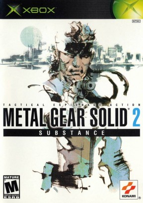 Metal Gear Solid 2: Substance Xbox Cover
