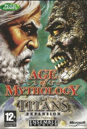 Age of Mythology: The Titans PC Cover