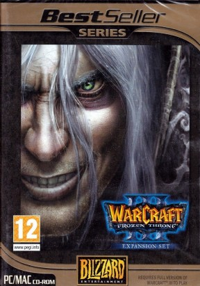 Warcraft 3: Frozen Throne PC Cover