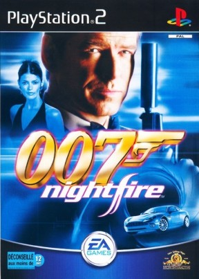 007: Nightfire PS2 Cover