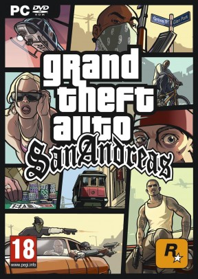 Grand Theft Auto: San Andreas PC Cover