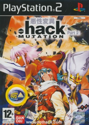 .Hack: Mutation PS2 Cover