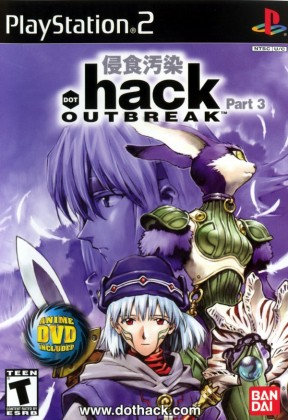 .Hack: Outbreak PS2 Cover