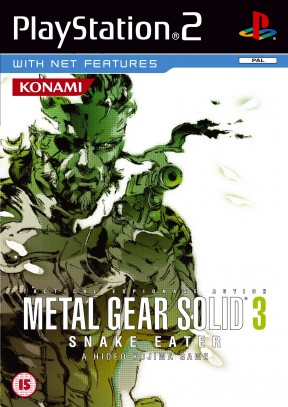 Metal Gear Solid 3: Snake Eater PS2 Cover