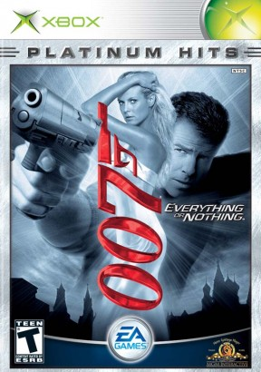 007: Everything or Nothing Xbox Cover