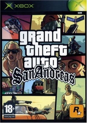 Grand Theft Auto: San Andreas Xbox Cover