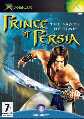 Prince of Persia: Le sabbie del tempo Xbox Cover
