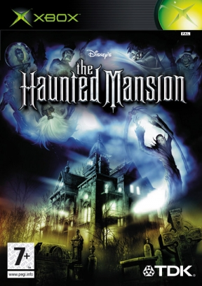 The Haunted Mansion Xbox Cover