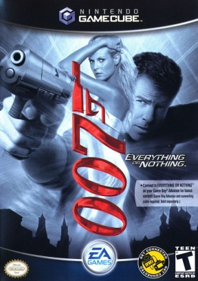 007: Everything or Nothing GameCube Cover