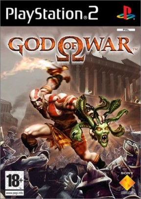 God of War PS2 Cover