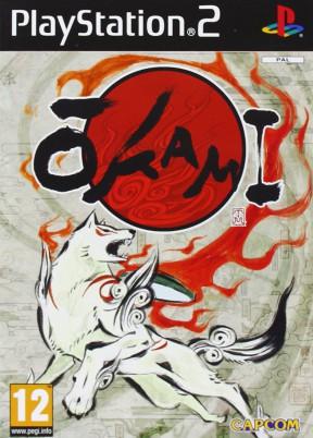 Okami PS2 Cover