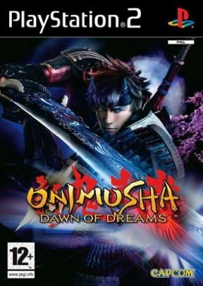 Onimusha: Dawn of Dreams PS2 Cover