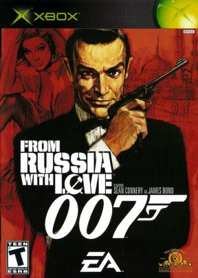 007: From Russia With Love Xbox Cover