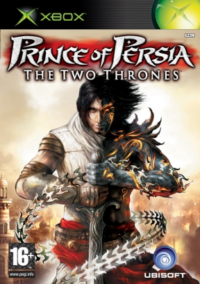 Prince Of Persia: i due troni Xbox Cover