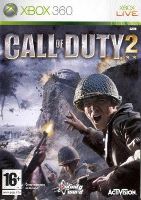 Call Of Duty 2 Xbox 360 Cover