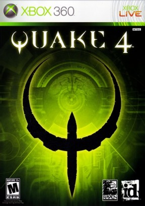 Quake IV Xbox 360 Cover
