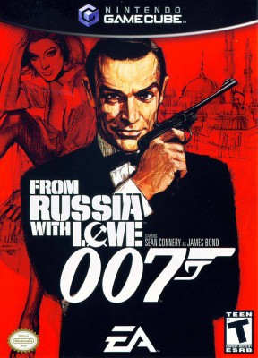 007: From Russia With Love GameCube Cover