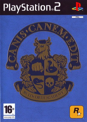 Canis Canem edit PS2 Cover